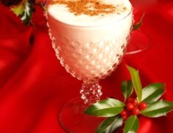 Holiday Eggless Eggnog