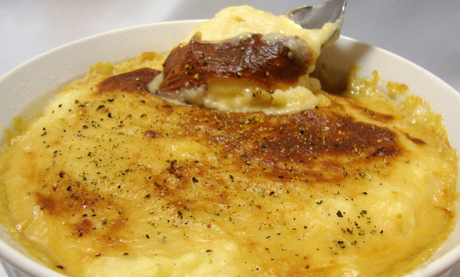 Whipped Potato and Parsnip Gratin featuring Jarlsberg Melt