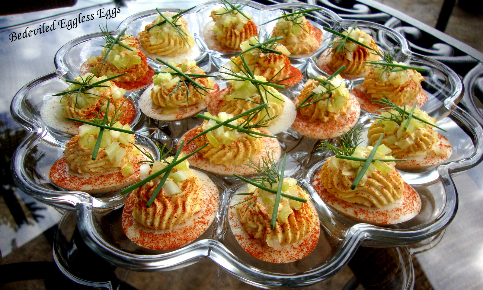 Bedeviled Eggless Eggs
