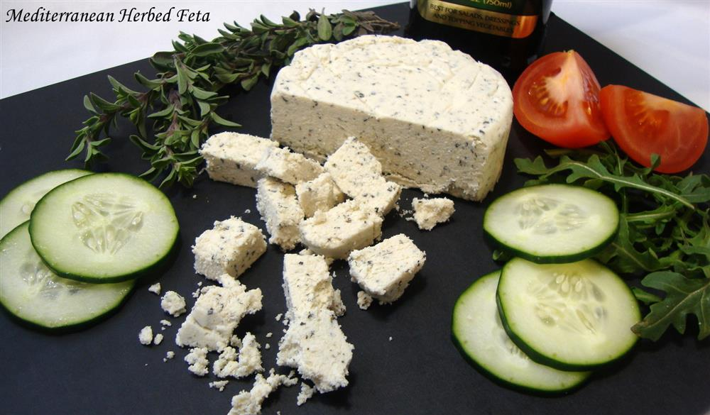 Mediterranean Herbed Feta (From the Non-Dairy Evolution Cookbook)